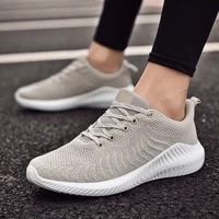 flying woven mens shoes sneakers spring outdoor sport running shoes breathable lightweight casual shoes