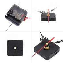 1 conjunto de Mecanismo De Relógio de Parede Relógio DIY Peças de Mecanismo de Movimento do Relógio de Quartzo Reparação Substituição de Peças de Relógio Mãos Conjunto de Ferramentas