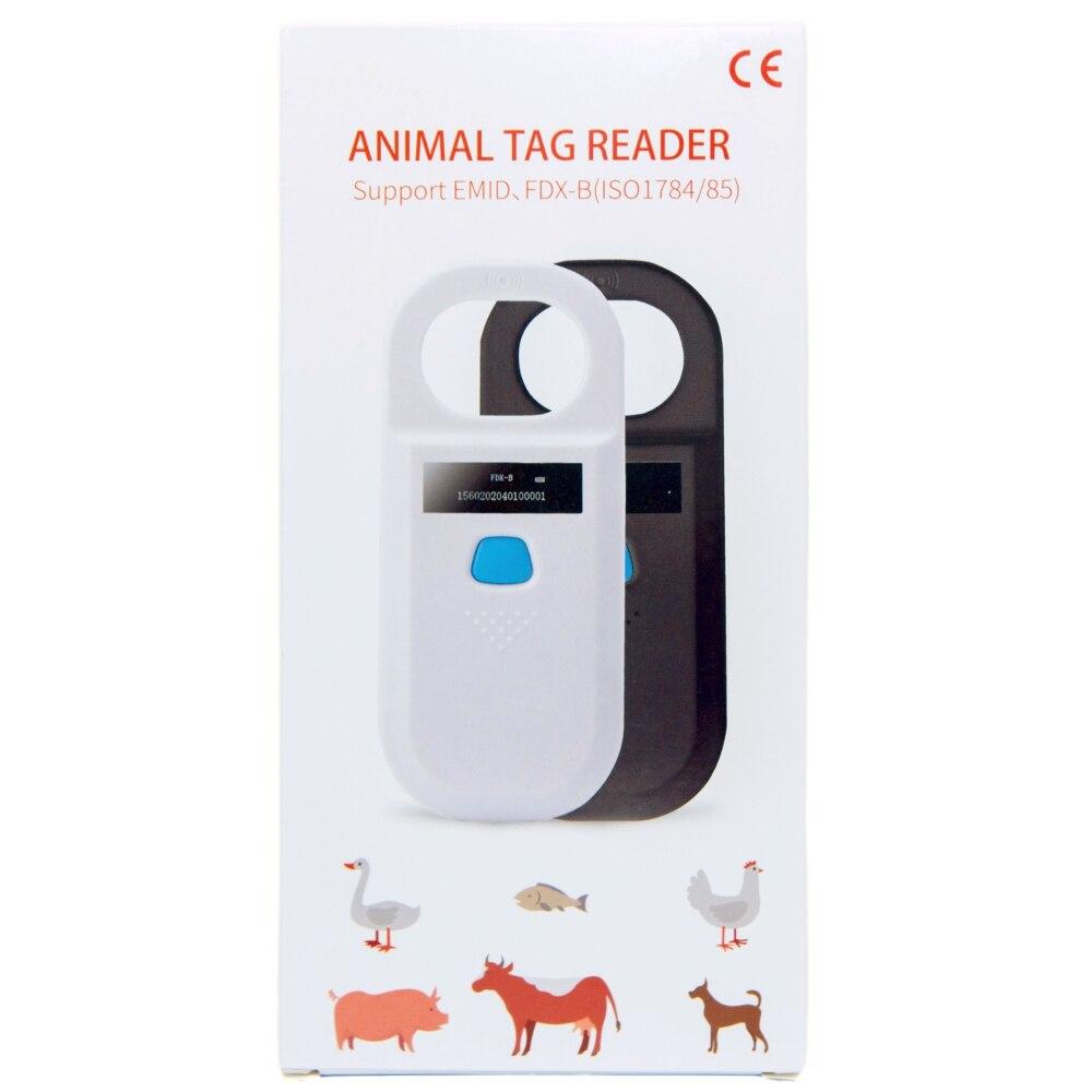 ISENVO Pet Scanner AR180 134.2kHz FDX-B Animal Pet Id Reader Chip Transponder RFID Handheld Microchip Scanner for Dog Cats Horse enlarge