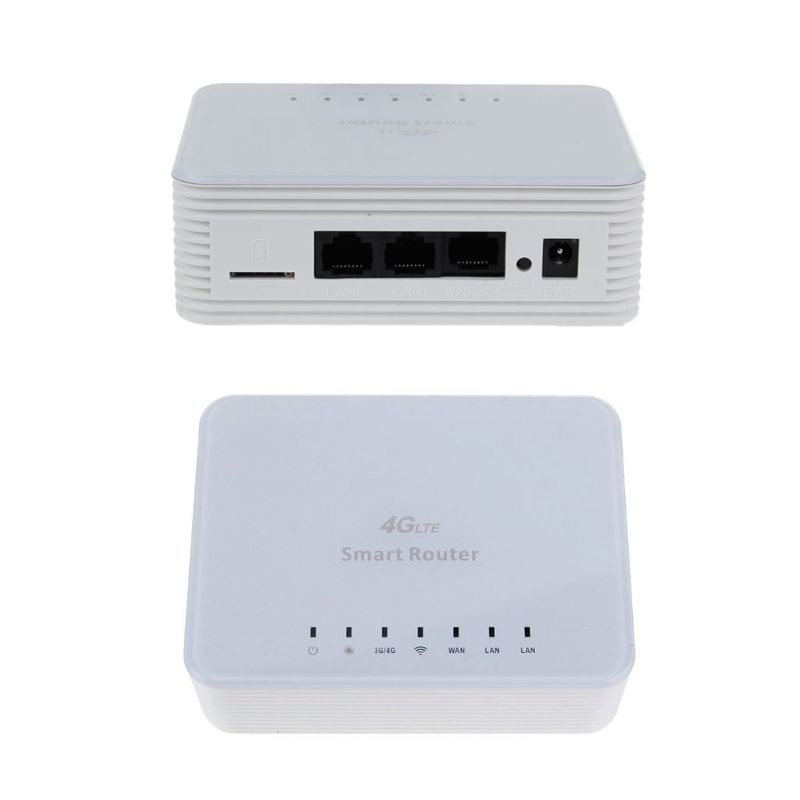 Unlock 300M CPE 4G Wifi Router Gateway FDD TDD LTE Global SIM Card Slot WAN LAN