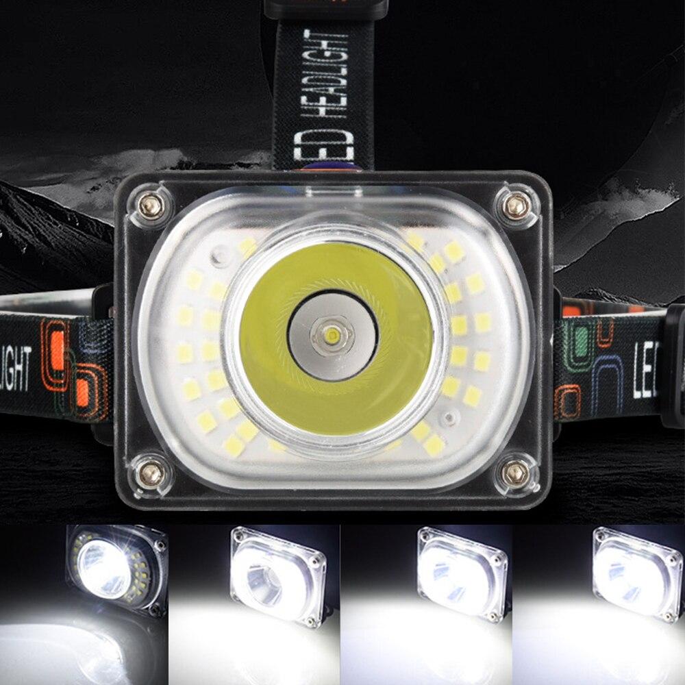 20000lumens poderoso led farol t6 cabeça lâmpada lanterna tocha cabeça luz 18650 bateria melhor para acampar, pesca