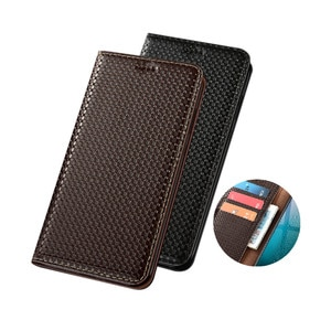 Luxury Genuine Leather Wallet Magnet Book Flip Case For Asus ZenFone 3 Zoom ZE553KL/ZenFone 4 ZE554KL Phone Case Card Holder