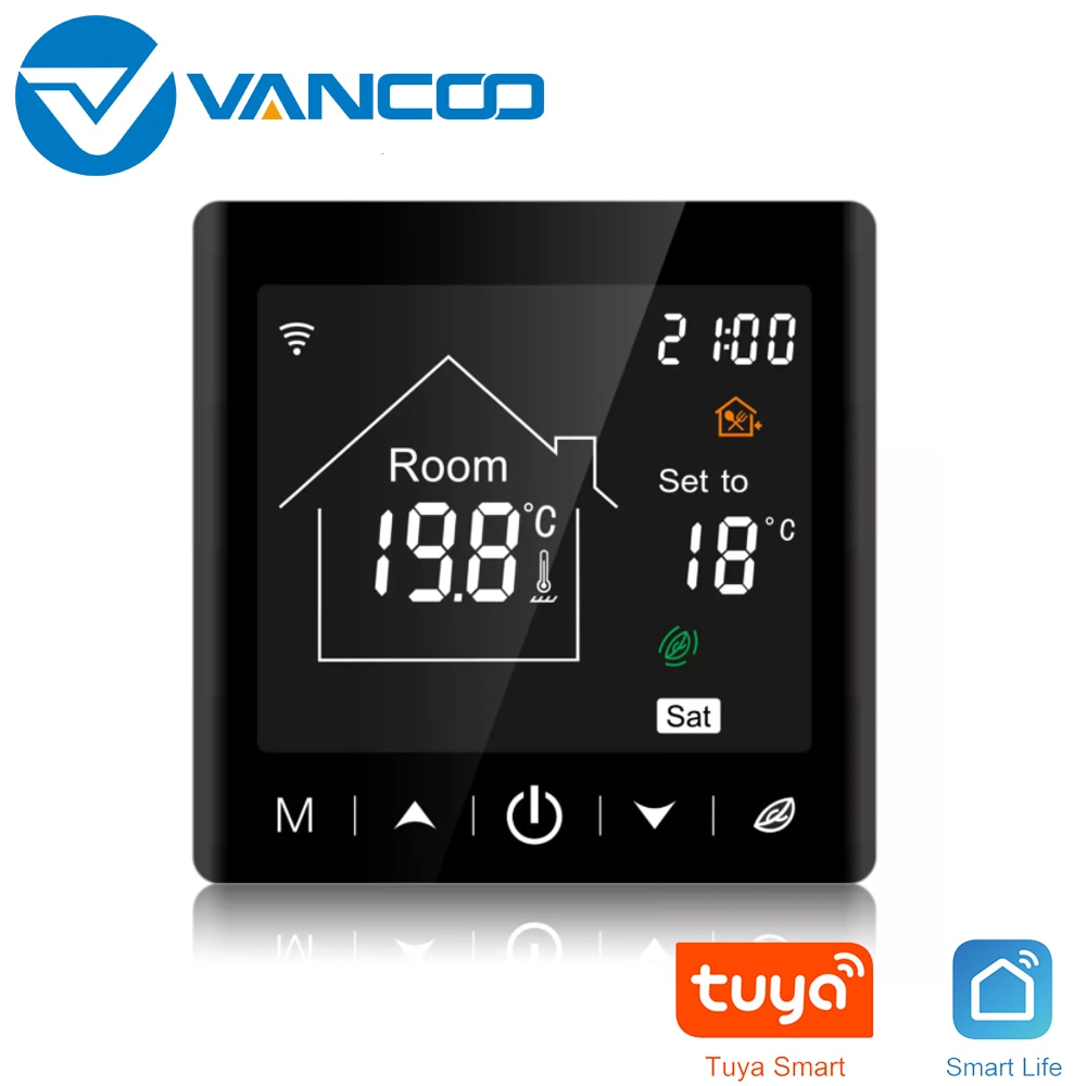 Tuya Wifi Smart Thermostat 220V Temperature Controller Electric Heating/Water Heating/Gas Heating Thermoregulator for Warm Floor smart wifi tuya thermostat temperature controller gas boiler water heating electric heating thermoregulator floor controller