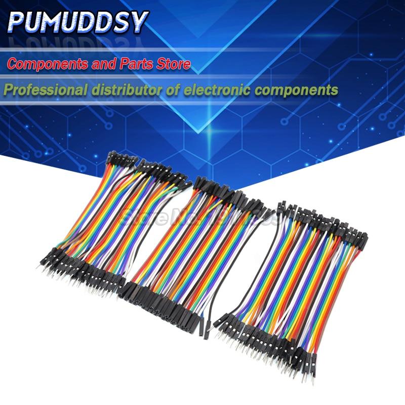 120 шт., 40-контактный кабель Dupont 10 см, ште