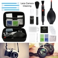 46pcs set Cleaning Kit Sensor DSLR Lens Digital Camera Cleaner Kit DKL-20 for Sony for Nikon for Canon SLR Cameras Clean Set