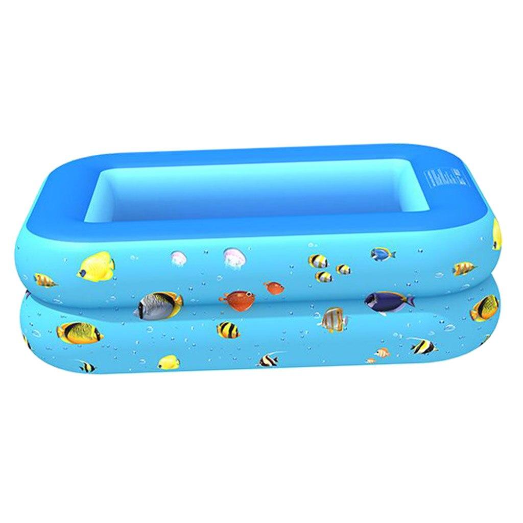 Casa Familiar Rectangular, piscina inflable, jardín para bebés, niños, infantes