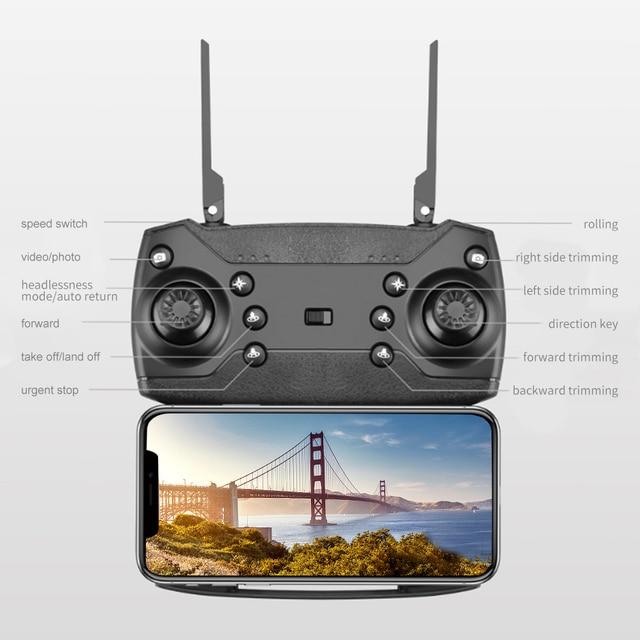 LSRC 2021 New Quadcopter Drone E525 HD 4K 1080P Camera and WiFI 10