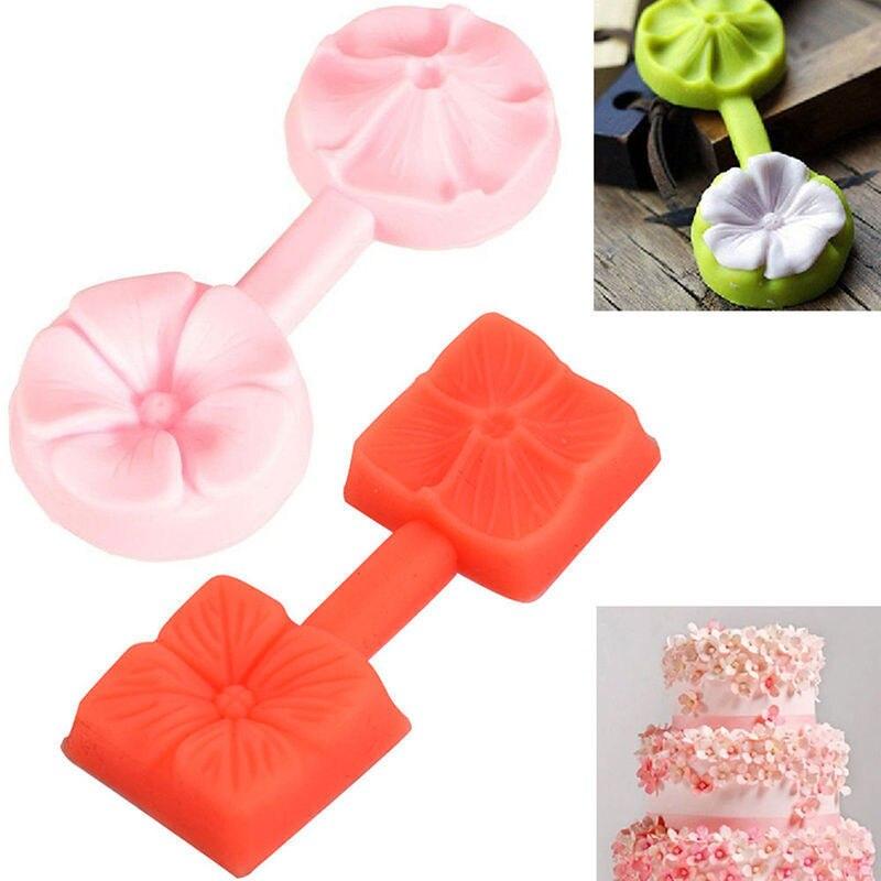 Инструменты для торта, милый 3D цветок розы, помадка, торт, шоколад мастика, форма, резак, силиконовое украшение, ледяные кондитерские изделия...