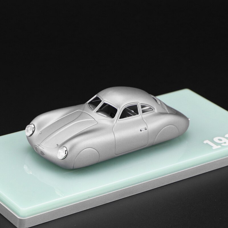 1 43 modelo de carro de simulacao de fundicao de liga de metal porsche 1939 ty64