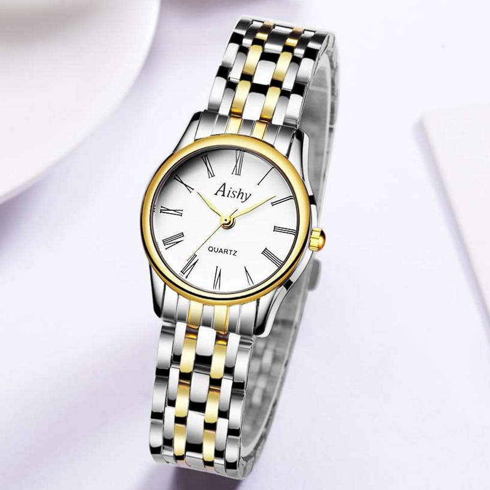 Luxury Women Watches stainless steel Female Clock Quartz Wristwatch Fashion Ladies Wrist Watch reloj mujer relogio feminino enlarge