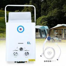 Honhill 6L Gas LPG Hot Water Heater Propane Stainless Steel Propane On-Demand Gas Water Heater Insta