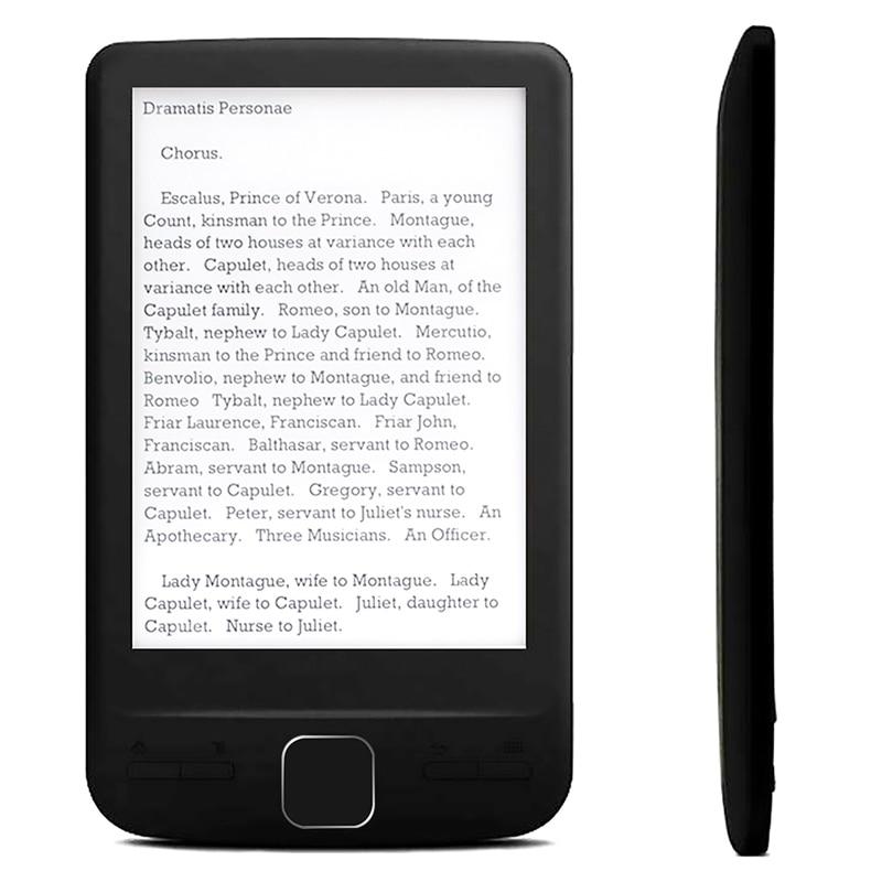 high-end BK4304 Ultra Thin eBook eReader 4.3 inch OED e-ink Screen Digital e-Book Reader 4GB/8GB/16GB Electronic Book Readers