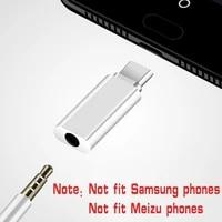 type c to 3 5mm jack converter earphone audio adapter cable type usb c to 3 5 mm headphone aux cable for huawei p20 lite mate 20