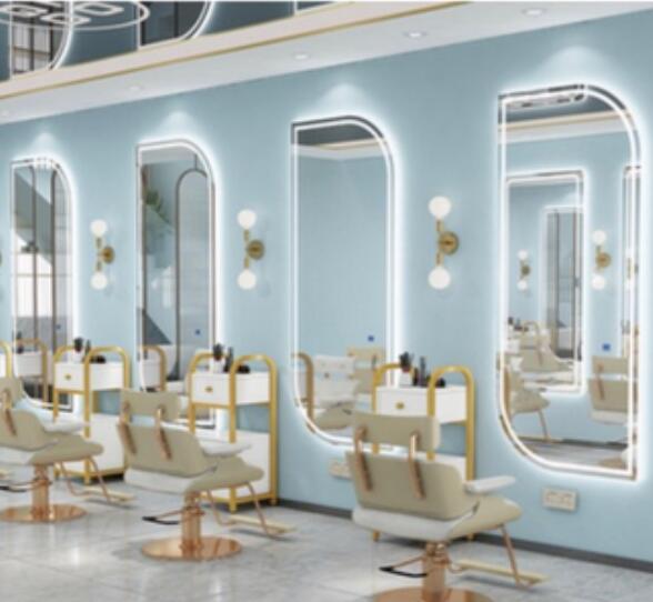 Производители продают европейские высококлассные парикмахерские салоны стрижка jingyi зеркало. Салон красоты jingyi