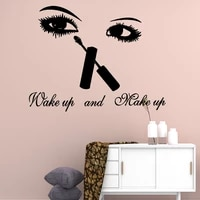 cartoon style beauty salon removable art vinyl wall stickers for kids room decoration nordic style home decoration