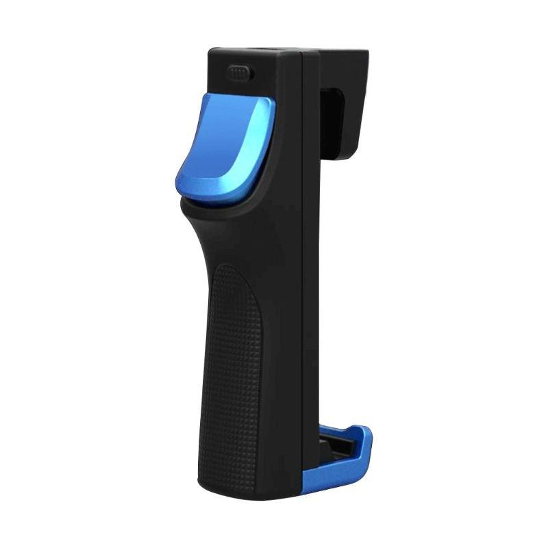 Black Blue Spider II Mobile Gamepad Gaming Handle Game Bracket Trigger Hand-Held Controller for A-ndroid / I-os 32 Clicks Per Se