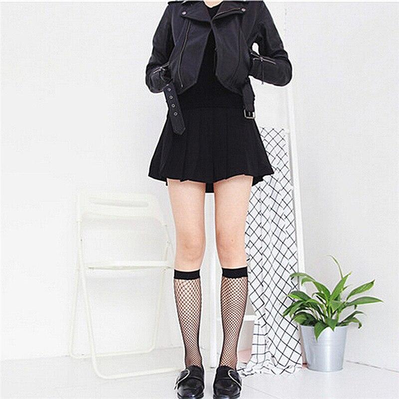 Calcetines sexy Harajuku goth para mujer, medias de tubo de altura media,...