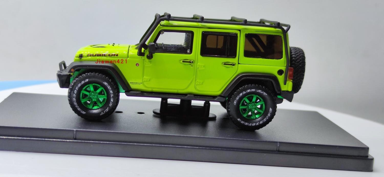 greenlight modelo de carro 2016 jeep wrangler super urso colecao de metal fundido brinquedos