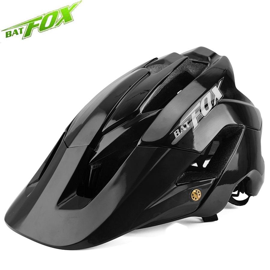 BATFOX-casco de ciclismo para hombre y mujer, protección para la cabeza de...