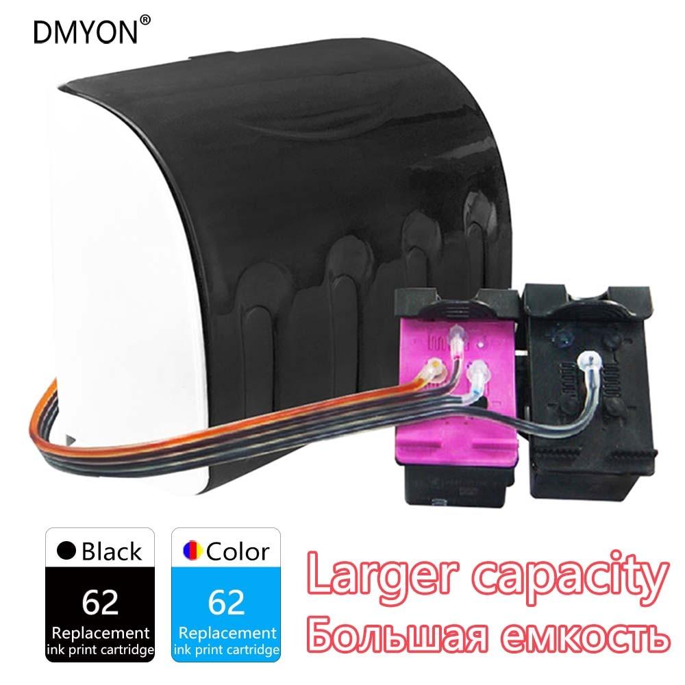 ciss recarga de cartuchos de tinta compativeis para hp 62 dmyon officejet 200 200c