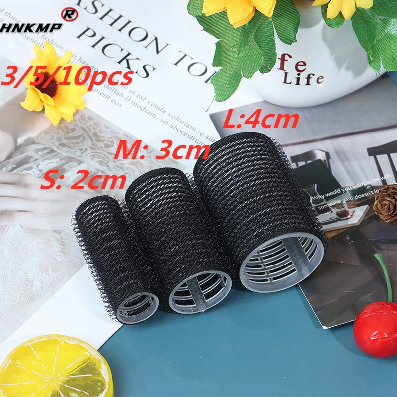 3/5/10pcs Large Self Grip Hair Rollers Pro Salon Hairdressing Curlers Professional 3 Size Hair Salon