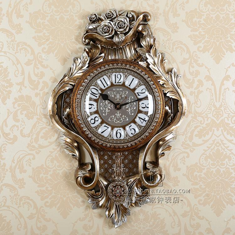 Elegant Flower Wall Clock Hands Living Room Creative Vintage Wall Clock Nordic Silent Orologio Da Parete Hanging Watch EA60WC