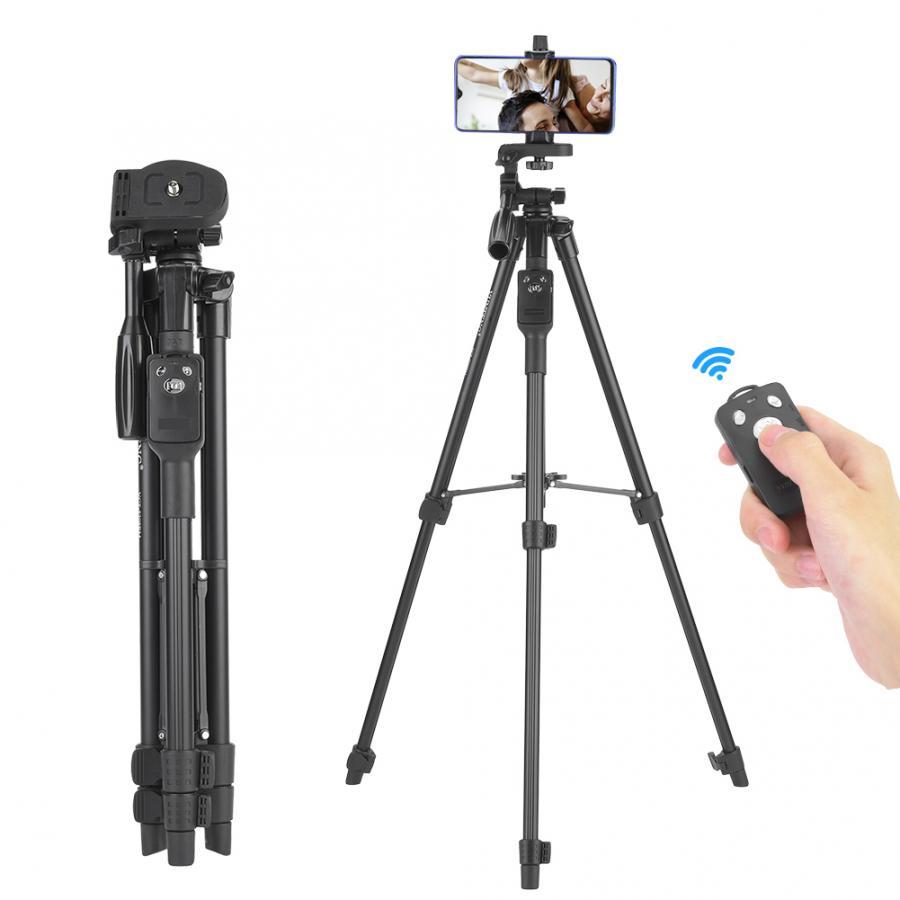 Trípodes para fotografía YUNTENG 5208 extensible trípode/palo selfie inalámbrico de Control remoto...