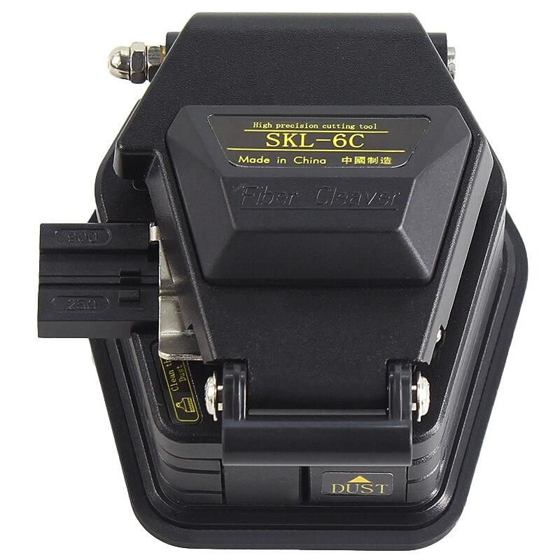 Новый волоконный Тесак SKL-6C для разделки кабеля Ножи FTTH волоконно-оптический Ножи инструмент резак волокна высокой точности ножи 16 поверхно...