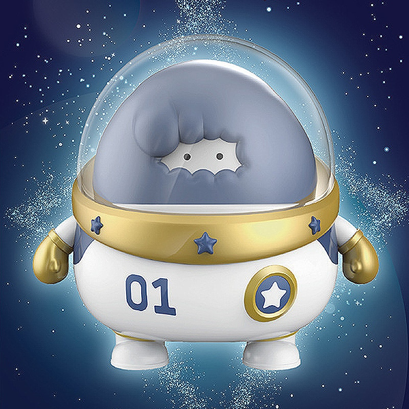 Aike Family Blind Box Creative Toy New Anime Doll Handmade Birthday Gift Cute Object Space Decoration