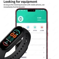 2021 new m6 smart watch men women fitness sports smart band fitpro version bluetooth music heart rate take pictures smartwatch