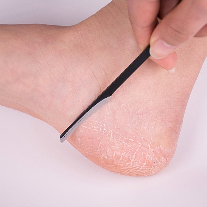 2019 nova moda pedicure manicure unha cleaner cutícula grooming pele morta plaina beleza pedicure faca ferramenta de cuidados com os pés