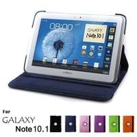 magnet for samsung galaxy note 10 1 2012 gt n8000 n8000 n8010 n8020 tablet case 360 rotating bracket flip stand leather cover