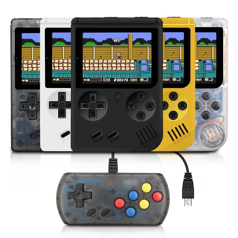 Rétro Mini joueurs de Console de jeu portables 3.0 pouces lecteur de jeu 8 bits Console de jeu vidéo Portable construit en 168 jeux