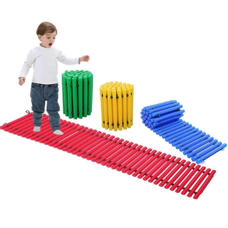 Balance Board Kids Stepping Pathway Zabawki Dla Dzieci Giochi Bambini Children Games Toys For Boys Girls 4 5 6 7 8 9 Years Old