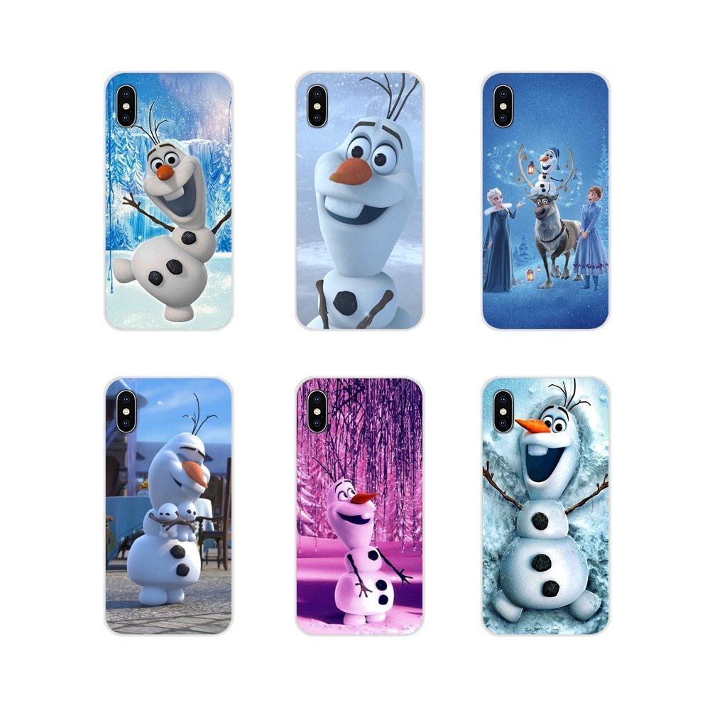 Олаф Снеговик Замороженные аксессуары чехол для телефона huawei mate Honor 5X6X7 7A 7C 8 9 10 8C 8X20 30 Lite Pro