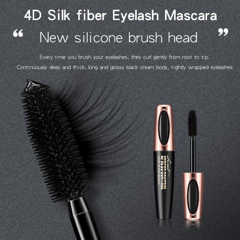 Newly Mascaras Eyelash Makeup 4D Lengthening Thick Curling Long Lasting Waterproof for Women CLA88