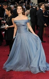 Famous Celebrity Dresses A-line Off The Shoulder Tulle Backless Long Formal Red Carpet Dresses