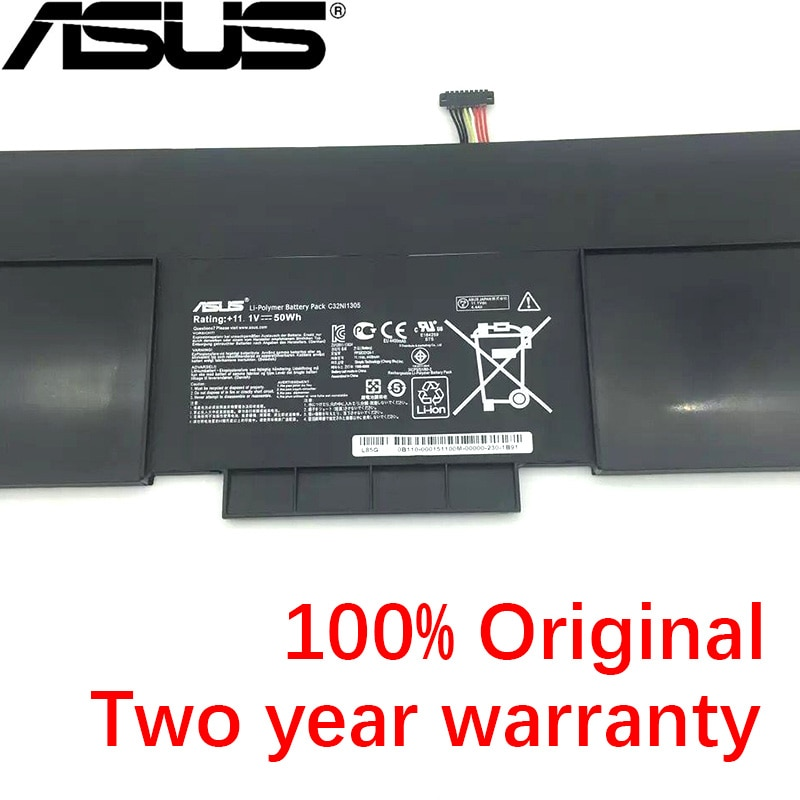 ASUS NOVO Original Bateria Para ASUS Zenbook C32N1305 UX30 UX301L UX301LA C4003HUX301LA4500 UX301LA-1A UX301LA-1B UX301LA-C4006H