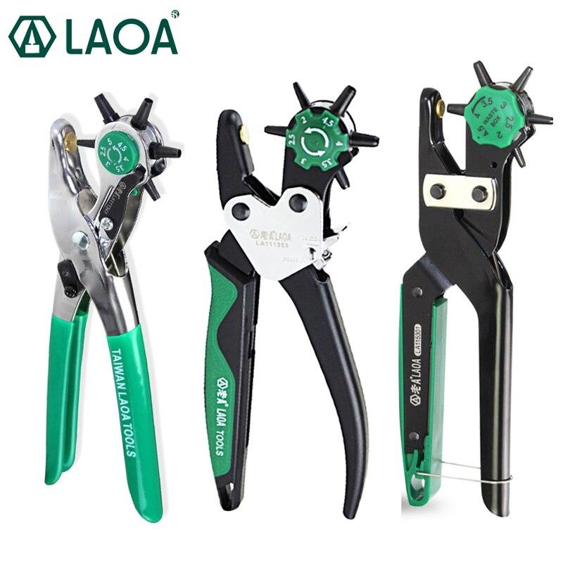 LAOA cuir poinçon pince ceinture poinçon haute qualité professionnel poinçonnage outils