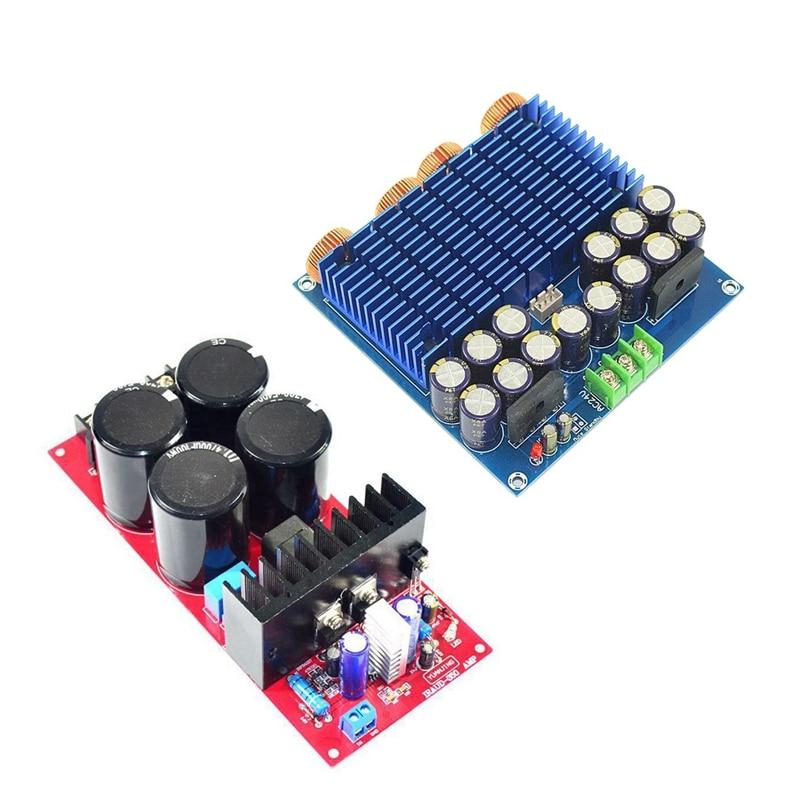 2 stücke Klasse D Dual Channel Digital Power Verstärker Bord 1 stücke TDA8954TH 420W + 420W High Power & 1 stücke IRS2092 700W 4Ω/350W 8Ω