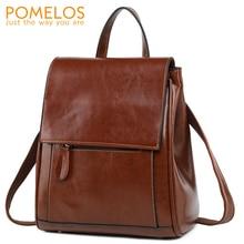 POMELOS mode sac à dos femmes fendu en cuir voyage femme sac à dos sac à dos concepteur femmes sac à dos femme sac à dos dames