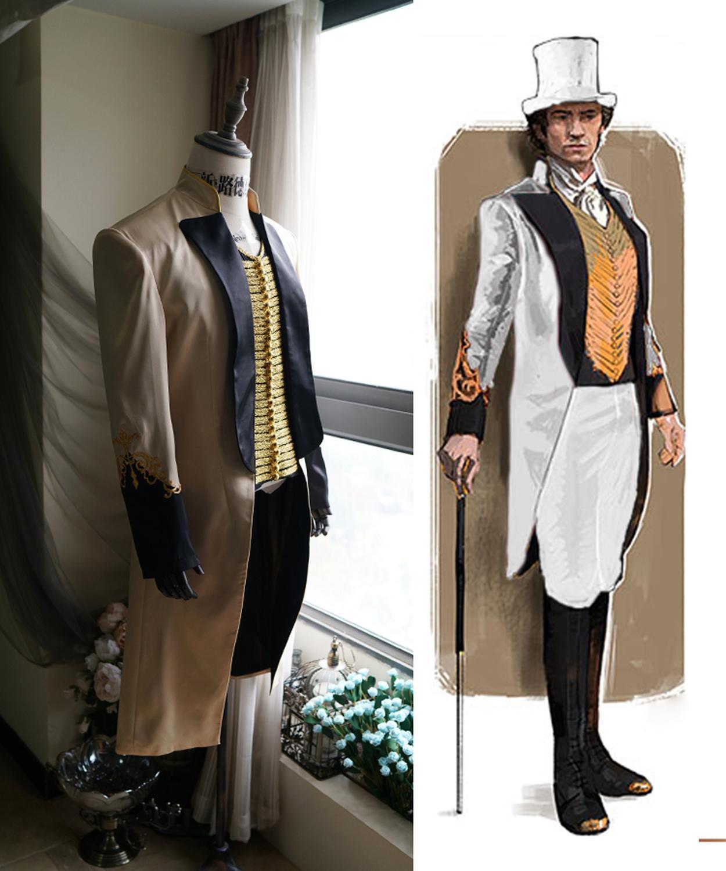 Die Größte Showman Cosplay Kostüm Hugh Jackman Mens Performance Outfit Anzug Nach Maß L321