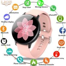 LIGE Woman Bluetooth Phone Smart Watch Women Waterproof Sports Fitness Watch Health Tracker 2020 New