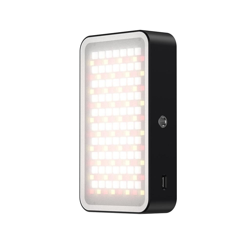 RGB LED Pocket Lamp On Camera Video Photo Studio Fill Light Flash Vlog Lighting Set Atmosphere Light enlarge