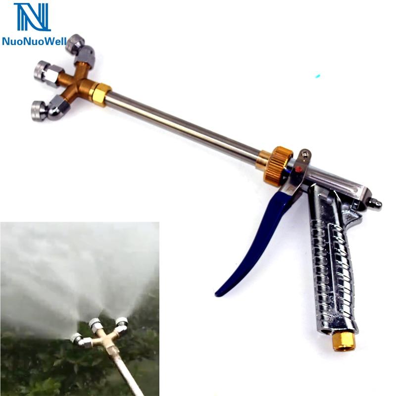 NuoNuoWell 3 Heads Agricultural High-Pressure Spray Gun Ultra Fine Mist Fruit Tree PLD-3 Atomization Nozzle  Pesticides Sprayer