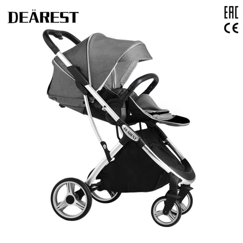 Dearest 1108 Baby Stroller Folding Simple Buggy Four-Wheel Shock Absorption 2021 New enlarge
