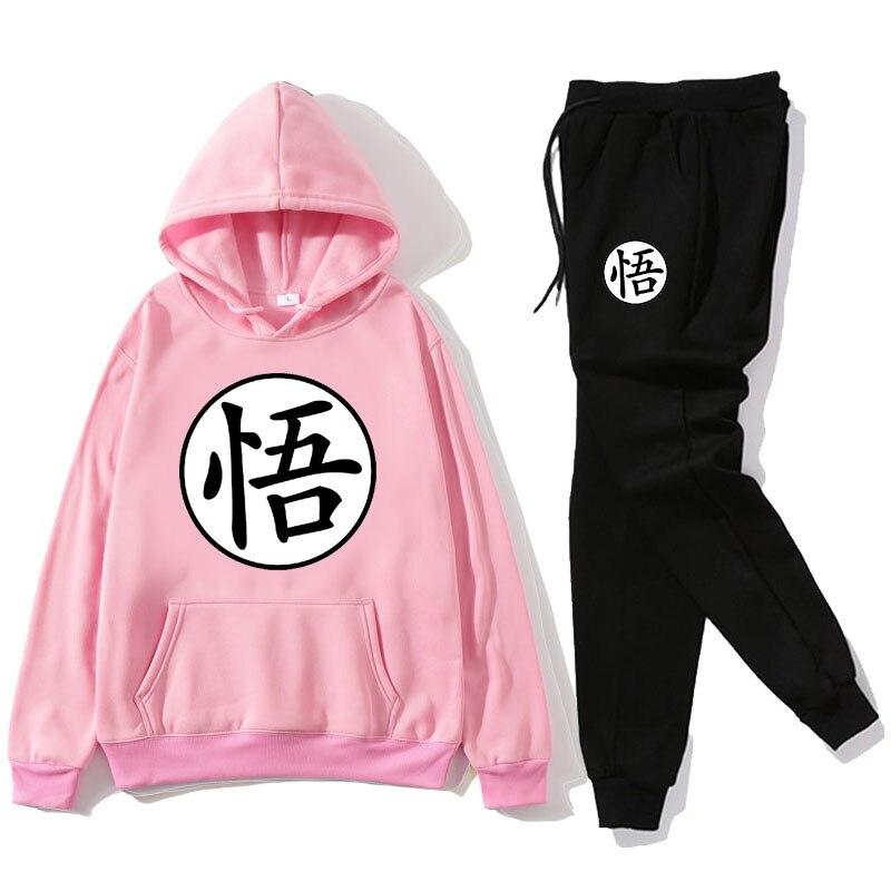Men's Track and Field Sportswear Hoodie + Pants Fall/Winter Hooded Sports Shirt Track and Field Suits Men's Sportswear Hoodie Tr