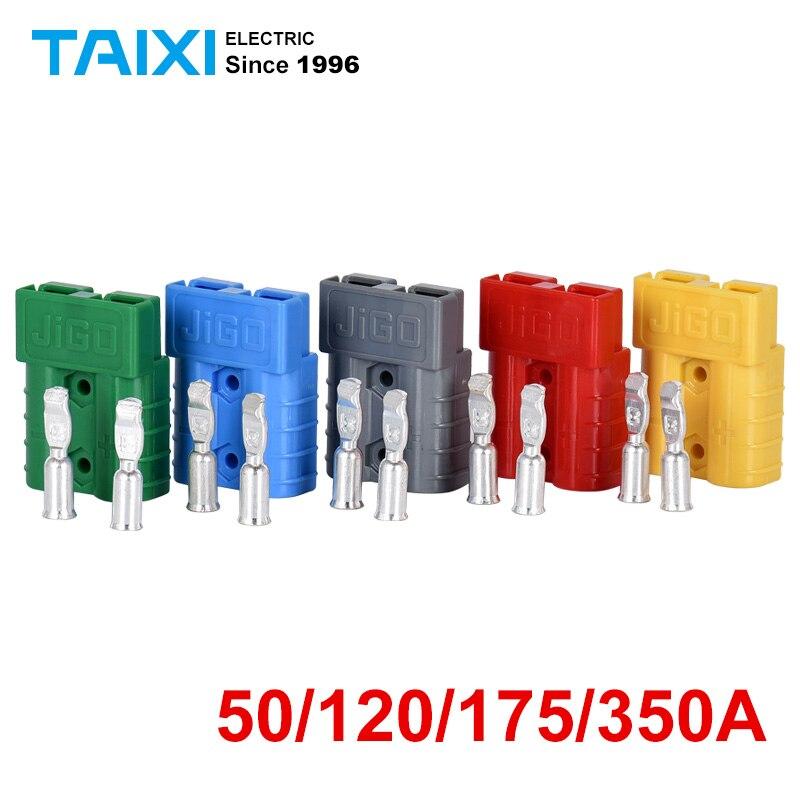 Anderson Power Bipolar terminales de conector 50A 120A 175A 350A 600V de la batería de coche eléctrico conector conectores de enchufe kits