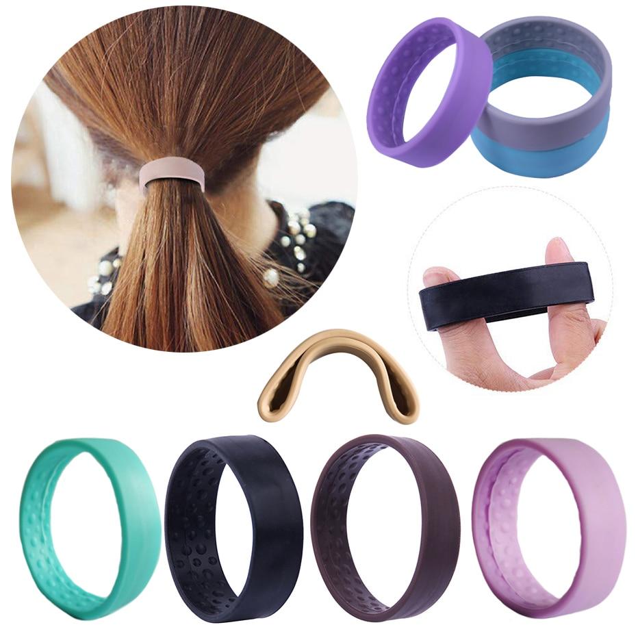 silicone-foldable-elastic-hairband-women-girls-magic-ponytail-holder-stretch-hair-tie-ponytail-headband-rope