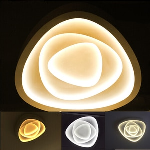 Creative LED Lighting Ceiling Lamp For Sitting Room Bedroom Study Corridor Balcony Ceiling Lighting Dimmable By Remote